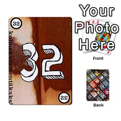 Geschenkt P2 By Jason Spears   Playing Cards 54 Designs   Cev8whi5rtjf   Www Artscow Com Front - Club10