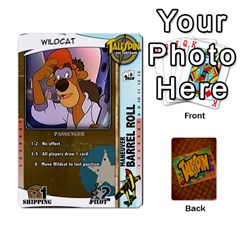 King Ts Deck 4 By Joe Fourhman   Playing Cards 54 Designs   Bhq2k8f0f7h3   Www Artscow Com Front - SpadeK