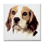 Beagle ^ Tile Coaster