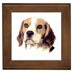 Beagle ^ Framed Tile