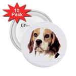 Beagle ^ 2.25  Button (10 pack)