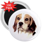 Beagle ^ 3  Magnet (100 pack)
