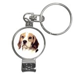 Beagle ^ Nail Clippers Key Chain