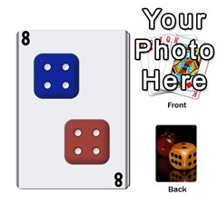 Deck Of Dice B By Jonathan Ham   Playing Cards 54 Designs   Tajv3o61sp9h   Www Artscow Com Front - Heart3