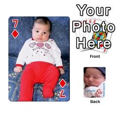Cartas Valentin 4 By Ana   Playing Cards 54 Designs   Ea95gya0au71   Www Artscow Com Front - Diamond7