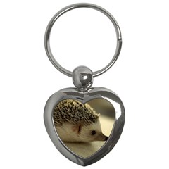 Standard Hedgehog II Key Chain (Heart) from ArtsNow.com Front