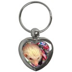 Albino HH Key Chain (Heart)