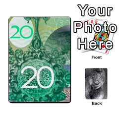 Currency 1 25 5 20 20 9 By Mike Haverty   Playing Cards 54 Designs   Xujxajcskpuz   Www Artscow Com Front - Diamond9