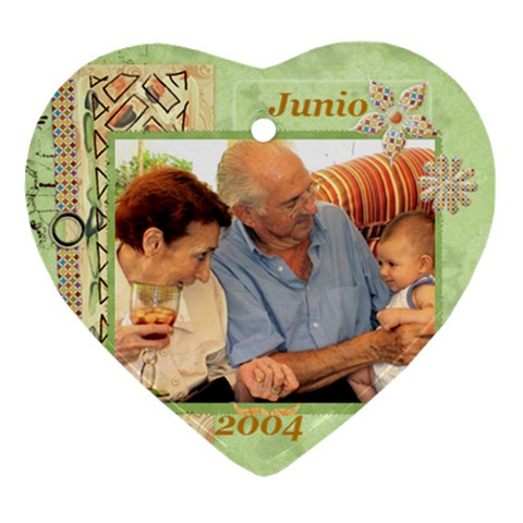 2004 06 Papi Y Mami By Ana   Ornament (heart)   7nn7xys8j8lr   Www Artscow Com Front