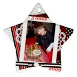 2009 5to cumple - Ornament (Star)
