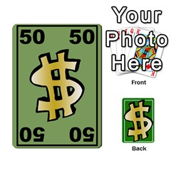 Money Cards By Rehlers   Playing Cards 54 Designs   Qwm0viaplr8v   Www Artscow Com Front - Diamond7