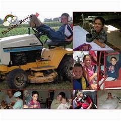 Hiawassee, Grandkids Collage By Leanna   Collage 8  X 10    3vrwmm1d35vl   Www Artscow Com 10 x8 Print - 3