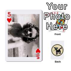 Dads Wwii Deck By Matt   Playing Cards 54 Designs   Lcvgz32n4og0   Www Artscow Com Front - Heart5