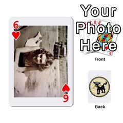 Dads Wwii Deck By Matt   Playing Cards 54 Designs   Lcvgz32n4og0   Www Artscow Com Front - Heart6