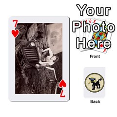 Dads Wwii Deck By Matt   Playing Cards 54 Designs   Lcvgz32n4og0   Www Artscow Com Front - Heart7