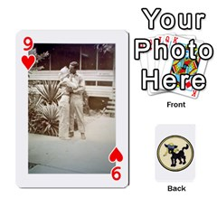Dads Wwii Deck By Matt   Playing Cards 54 Designs   Lcvgz32n4og0   Www Artscow Com Front - Heart9