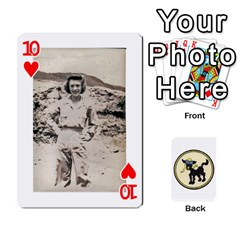 Dads Wwii Deck By Matt   Playing Cards 54 Designs   Lcvgz32n4og0   Www Artscow Com Front - Heart10
