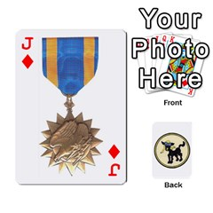 Jack Dads Wwii Deck By Matt   Playing Cards 54 Designs   Lcvgz32n4og0   Www Artscow Com Front - DiamondJ