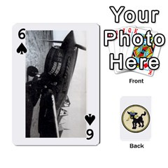 Dads Wwii Deck By Matt   Playing Cards 54 Designs   Lcvgz32n4og0   Www Artscow Com Front - Spade6