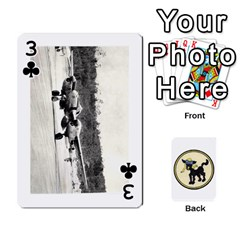 Dads Wwii Deck By Matt   Playing Cards 54 Designs   Lcvgz32n4og0   Www Artscow Com Front - Club3