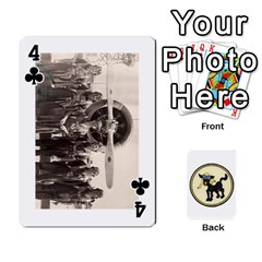 Dads Wwii Deck By Matt   Playing Cards 54 Designs   Lcvgz32n4og0   Www Artscow Com Front - Club4