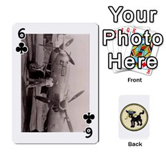 Dads Wwii Deck By Matt   Playing Cards 54 Designs   Lcvgz32n4og0   Www Artscow Com Front - Club6