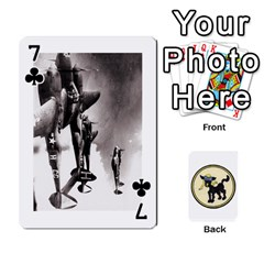 Dads Wwii Deck By Matt   Playing Cards 54 Designs   Lcvgz32n4og0   Www Artscow Com Front - Club7
