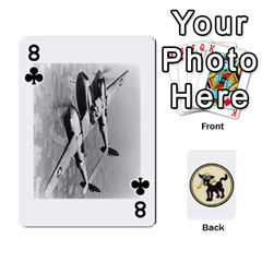 Dads Wwii Deck By Matt   Playing Cards 54 Designs   Lcvgz32n4og0   Www Artscow Com Front - Club8