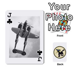 Jack Dads Wwii Deck By Matt   Playing Cards 54 Designs   Lcvgz32n4og0   Www Artscow Com Front - ClubJ