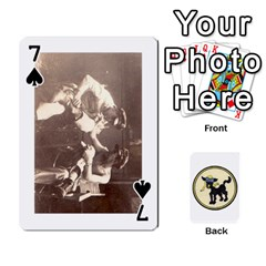 Dads Wwii Deck By Matt   Playing Cards 54 Designs   Lcvgz32n4og0   Www Artscow Com Front - Spade7