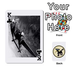 King Dads Wwii Deck By Matt   Playing Cards 54 Designs   Lcvgz32n4og0   Www Artscow Com Front - ClubK