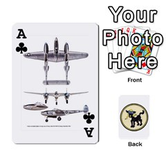 Ace Dads Wwii Deck By Matt   Playing Cards 54 Designs   Lcvgz32n4og0   Www Artscow Com Front - ClubA
