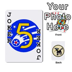 Dads Wwii Deck By Matt   Playing Cards 54 Designs   Lcvgz32n4og0   Www Artscow Com Front - Joker1