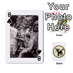 Dads Wwii Deck By Matt   Playing Cards 54 Designs   Lcvgz32n4og0   Www Artscow Com Front - Spade8