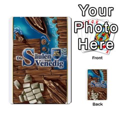Die Saulen Von Venedig By Kevin Rutherford   Playing Cards 54 Designs   8g5mx94c0d9f   Www Artscow Com Back