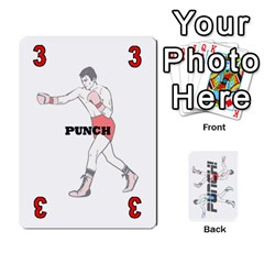 Ace Punch!  By Pamela Tan   Playing Cards 54 Designs   Rbfchl6dwnfd   Www Artscow Com Front - SpadeA