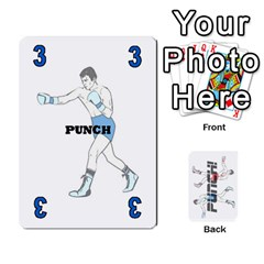 Ace Punch!  By Pamela Tan   Playing Cards 54 Designs   Rbfchl6dwnfd   Www Artscow Com Front - ClubA