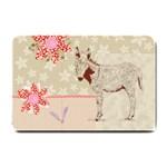 Donkey foal Small Doormat