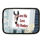 Love my donkey 2 Netbook Case (Medium)