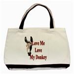 Love my donkey 2 Classic Tote Bag