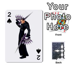 Luxord s Deck Of Fate By Joe Mccord   Playing Cards 54 Designs   Masae69312l8   Www Artscow Com Front - Spade2