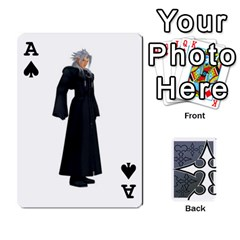 Ace Luxord s Deck Of Fate By Joe Mccord   Playing Cards 54 Designs   Masae69312l8   Www Artscow Com Front - SpadeA