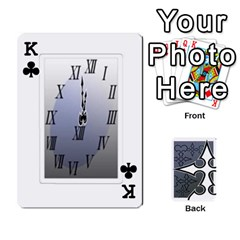 King Luxord s Deck Of Fate By Joe Mccord   Playing Cards 54 Designs   Masae69312l8   Www Artscow Com Front - ClubK