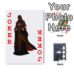 Luxord s Deck Of Fate By Joe Mccord   Playing Cards 54 Designs   Masae69312l8   Www Artscow Com Front - Joker2