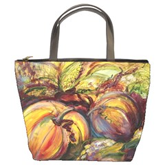 Bountiful Harvest By Alana   Bucket Bag   Uo8h83pzw6y9   Www Artscow Com Front