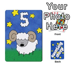 Counting Sheep By Rebekah Bissell   Playing Cards 54 Designs   174sm4rnhei9   Www Artscow Com Front - Heart8