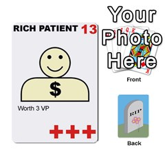 Quacks Patient Deck By Richard Irving   Playing Cards 54 Designs   Iwww9u6z0ril   Www Artscow Com Front - Diamond10