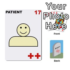 Quacks Patient Deck By Richard Irving   Playing Cards 54 Designs   Iwww9u6z0ril   Www Artscow Com Front - Club2