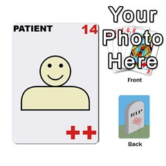 Quacks Patient Deck By Richard Irving   Playing Cards 54 Designs   Iwww9u6z0ril   Www Artscow Com Front - Club5