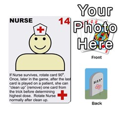 Quacks Patient Deck By Richard Irving   Playing Cards 54 Designs   Iwww9u6z0ril   Www Artscow Com Front - Club6